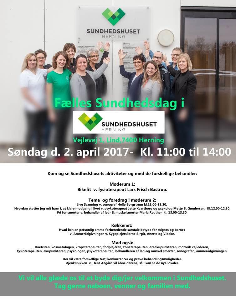 Fælles sundhedsdag 2.april2017